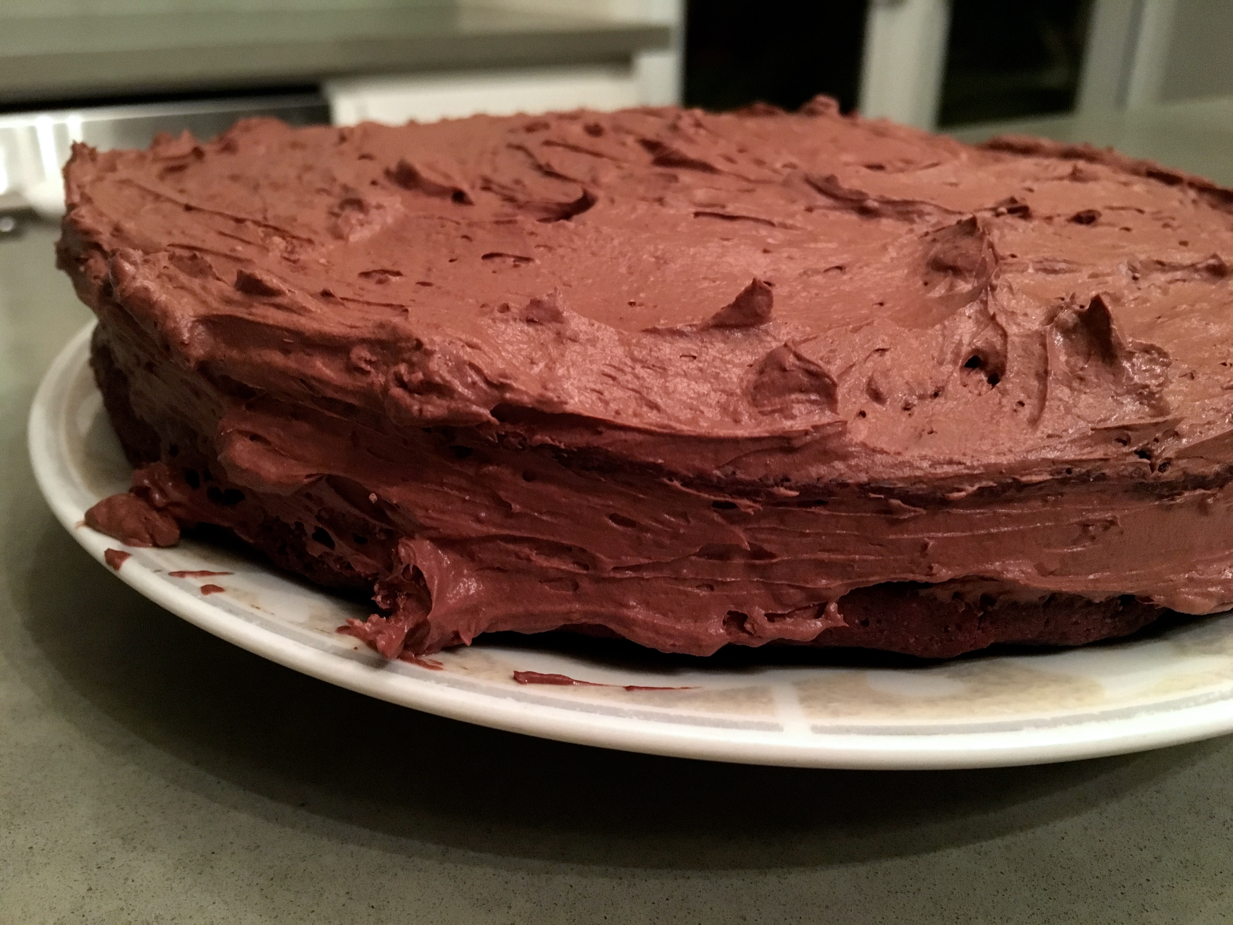 I Made The Frosting With The Solid Portion Of A Can Of Coconut Milk Plus Cocoa Powder And Nunaturals Liquid Stevia